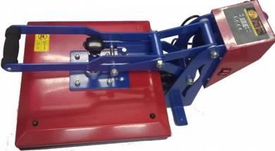 Mesin Heat Press 38 x 38 Dengan Dakwat Pigment