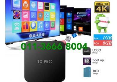 Great tx new tv box uhd android 4k tvbox live iptv