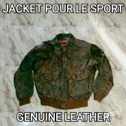 Jacket Leather Pour Le Sport