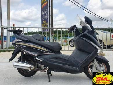 Sym vts200le scooter coverset enjin semua ok