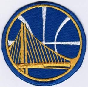 NBA Golden State Warriors Cap #B Basketball Patch