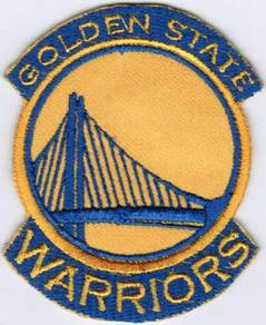 NBA Golden State Warriors #Y Basketball Patch