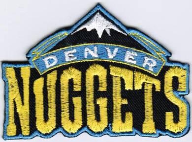 NBA Denver Nuggets National Basketball Badge Patch