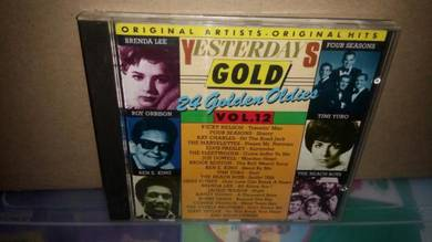 CD Yesterdays Gold Vol 12