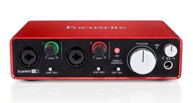 Focusrite Scarlett 2i2 (2nd Gen) - Audio Interface