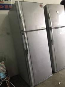 Toshiba big Fridge 2 doors Refrigerator Peti Sejuk