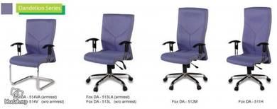 Executive LowBack ArmRes Chair DA513LA Full Fabric