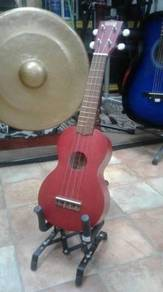 Ukulele Soprano - Metallic Red