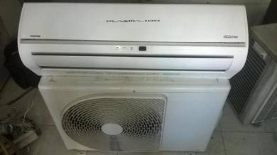 Air conditioner toshiba plasma ion inverter 1.5 hp