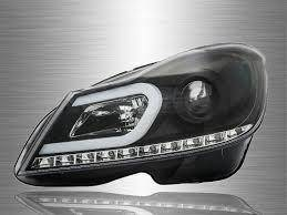 Mercedes C Class W204 11-13 Head Lamp Led Taiwan