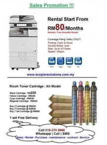 Copier Print Scan Copy Fotostat Canon Ricoh