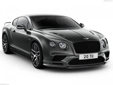 Bentley continental GT supersport bodykit Gt