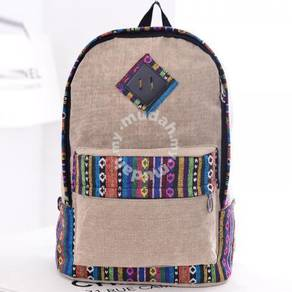 Tribal School Bag Student Casual Backpack