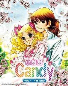 DVD ANIME Candy Vol.1-115 End