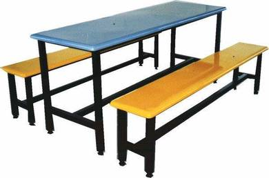 Canteen Cafe Meja Kantin Fiberglass FRP Table