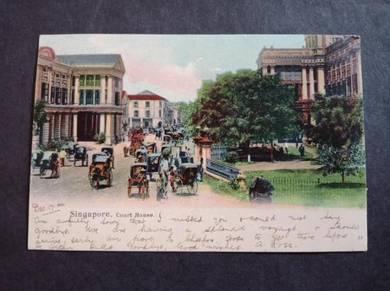 Postcard Court House 1904 PC 2754
