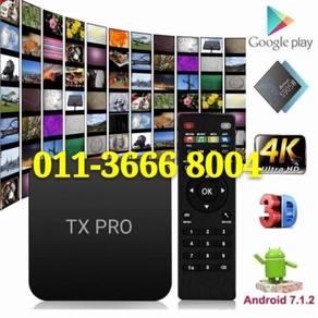 Mega box tv android 4k smart iptv tvbox hd