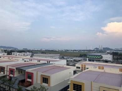 Saujana Damai Apt With No Blocking Airport View