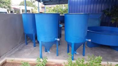 Fish & Shrimp Hatchery Tanks & Aquaponic Tanks