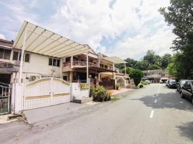 Double storey Terrace House Taman Melur, Ampang