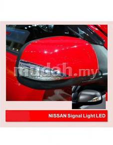 Nissan almera side mirror led light signal lamp