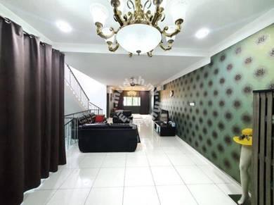 CANTIK FULLY RENOVATED 3 Storey Terrace Halamanda Gombak