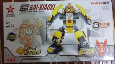 Bricks - SD 80228 Seer Sai-Xiaoxi Robot 2pcs
