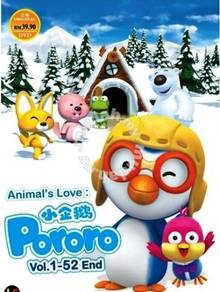 DVD ANIME Animal's Love Pororo Vol.1-52End