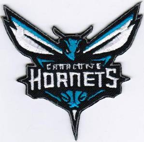 NBA Charlotte Hornets Basketball Badge Patch