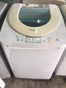 Auto Panasonic Mesin Basuh 7kg Washer Machin Fully