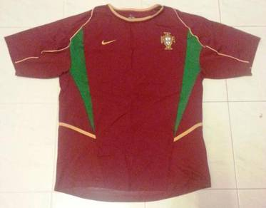 Portugal Home Jersey World Cup 2002 Nike Medium