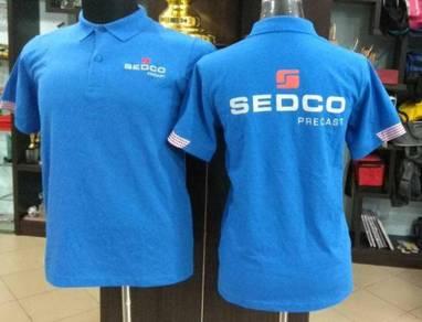 Baju T-shirt Printed/Sulam Murah Berkualiti