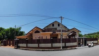 2 storey bungalow, taman chendering utama, kuala terengganu