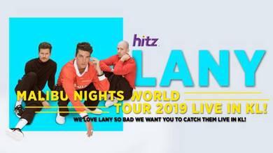 LANY Malibu Nights World Tour KL 2019 27/7/19