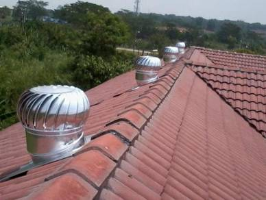 KELANTAN Wind Turbine Ventilator + FREE Air Vent