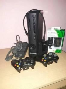Xbox 360 slim e jtag fullset 82 game