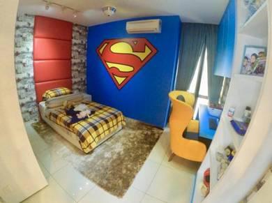 FULLY RENO 1473sqft Platinum Lake PV 20 Condominium Setapak