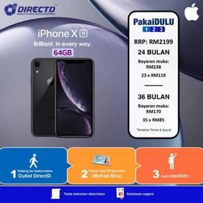 APPLE iPhone XR 64GB (ANSURAN MUDAH tanpa DOKUMEN)