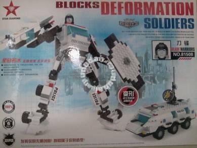 Bricks- Star Diamond 81508 Blade Warrior