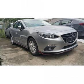 Mazda 3 sedan oem bodykit with spoiler body kit