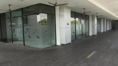 Cempaka, Fiesta Ampang mall, Axis Atrium, main road, LRT, corner