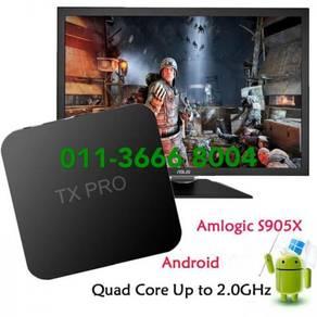 Great tx mega tv box ultra Android new tvbox