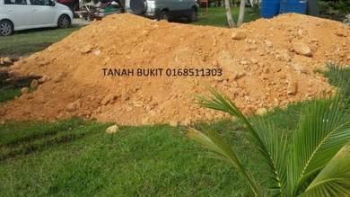 Soft topsoil sand stone tanah timbus