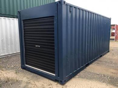 20ft rollUp Doors Container Storage