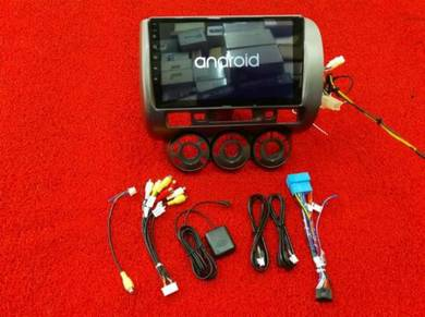 Honda jazz city 03 android mirror link gps player