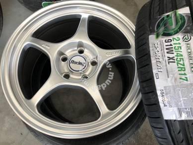 Sport rim baru 17 inch Enkei Rp01 package new Tyre