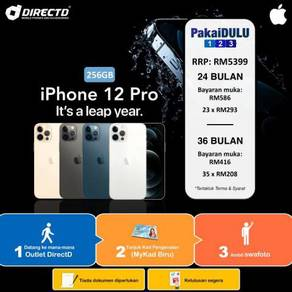 APPLE iPhone 12 PRO 256GB (ANSURAN tanpa DOKUMEN)