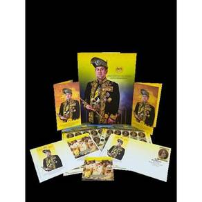 Folder Set Sultan Muhammad Agong XV Msia 2017
