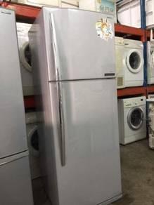 2 doors fridge Toshiba Peti Sejuk Ais Refrigerator