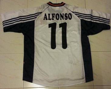 RARE Alfonso Perez 11 Spain Away World Cup 1998 XL